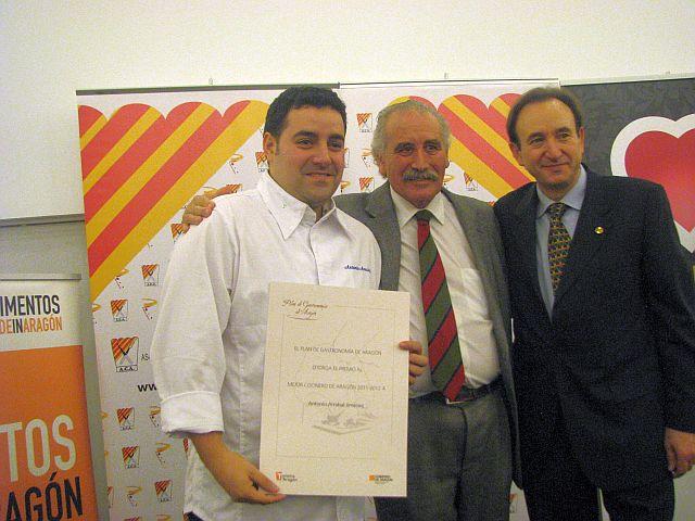 Antonio Arrabal, ex alumno del TOPI ZGZ