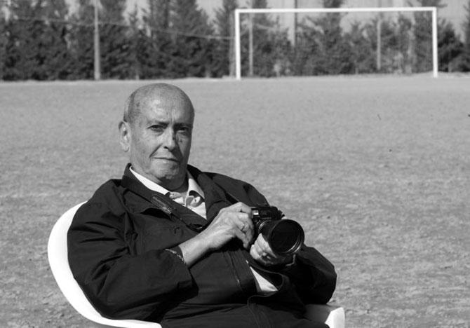 El fotógrafo Antonio Calvo Pedros
