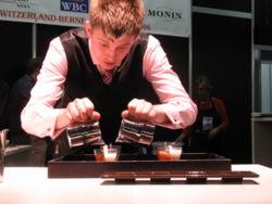 Hoffmann en el campeonato mundial de baristas- wikipedia