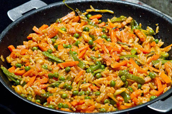 Topi zaragoza arroz de verduras topi zaragoza - Arroz con pescado y verduras ...