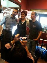 Hector Hernández, ex alumno del Topi, segundo en concurso de baristas en Osuna