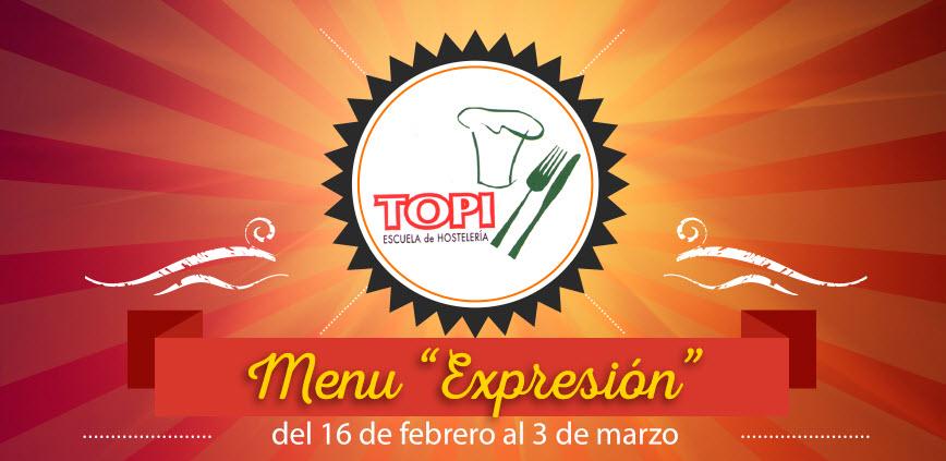 menu expresion topi