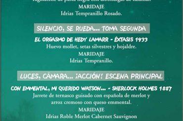 Menú Aragón Negro Gastronómico TOPI