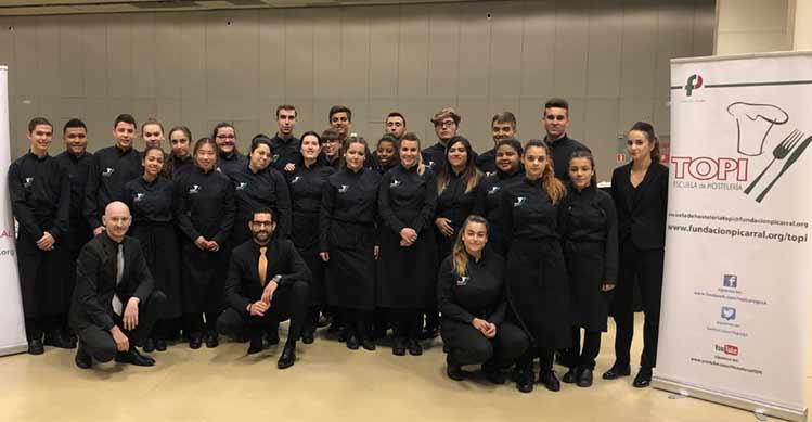 Alumnos Escuela Hostelería Topi