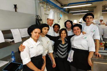 Con la profesora Fiorella Barbalinardo